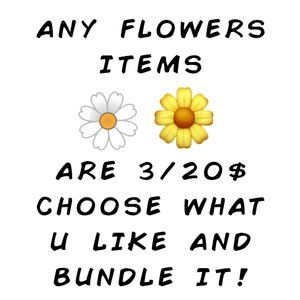 🌼3/20$ -- Bundle Any Items In my Closet with 🌼Emoji
